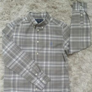 Ralph Lauren button up Boy shirt Size Large 14-16